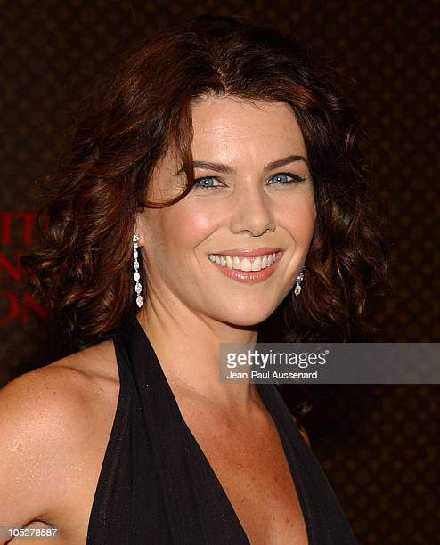 Lauren Graham during The Louis Vuitton United Cancer Front Gala Arrivals at Private Residence in Holmby Hills California United States