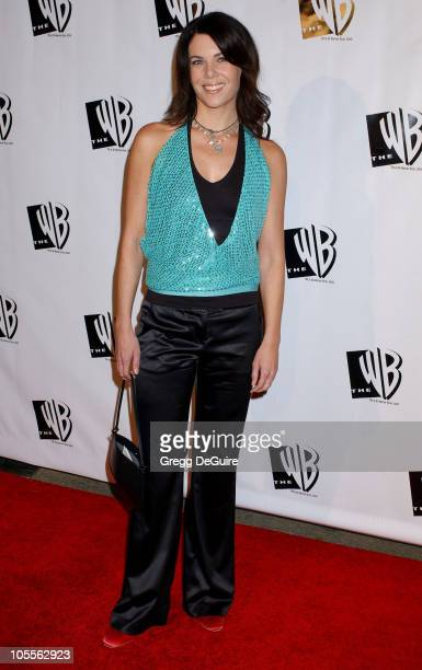 Lauren Graham during The WB Television Network's 2005 All Star Party Arrivals at Warner Bros Studio in Burbank California United States