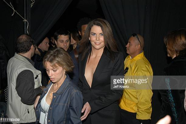 Lauren Graham during VH1 Big in 2002 Awards Backstage and Audience at Grand Olympic Auditorium in Los Angeles CA United States