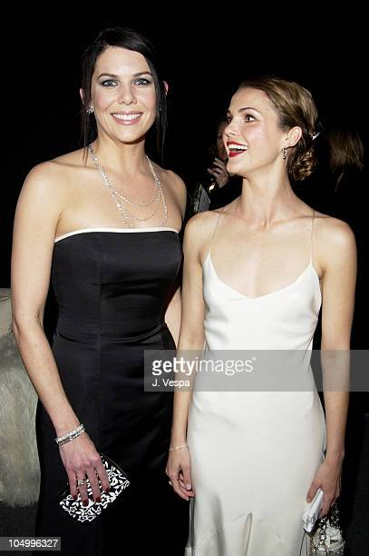 Lauren Graham Keri Russell during 8th Screen Actors Guild Awards Backstage Creations Talent Retreat at Shrine Auditorium in Los Angeles California...