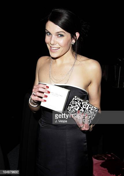 Lauren Graham with Marc Jacobs Perfume during 8th Screen Actors Guild Awards Backstage Creations Talent Retreat at Shrine Auditorium in Los Angeles...
