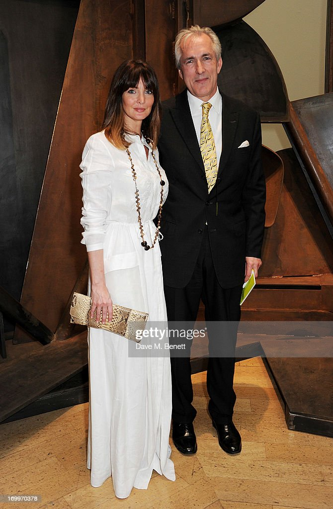 Lauren Gurvich (L) and Jeremy King attend the preview party for The Royal Academy Of Arts Summer Exhibition 2013 at Royal Academy of Arts on June 5, 2013 in London, England.