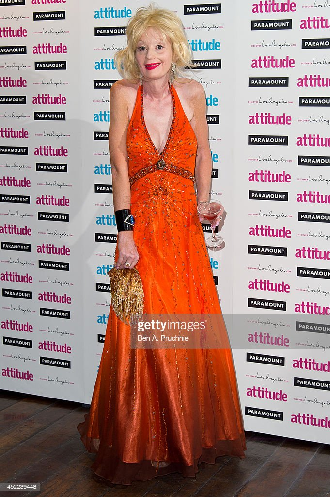 Lauren Harries attends the Attitude Magazine Hot 100 party at Paramount Club on July 16, 2014 in London, England.