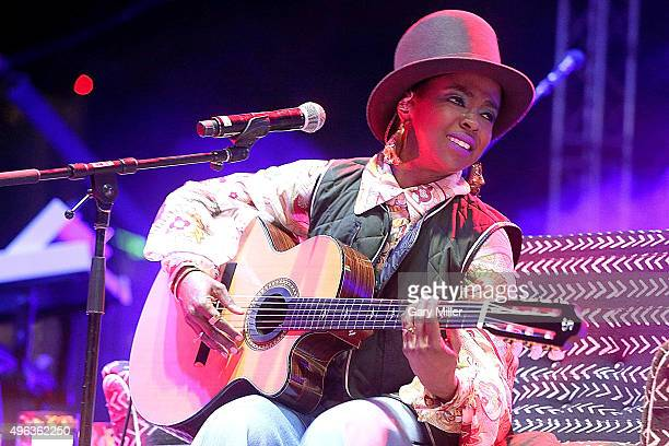 Lauren Hill performs in concert during Day 3 of Fun Fun Fun Fest at Auditorium Shores on November 8 2015 in Austin Texas