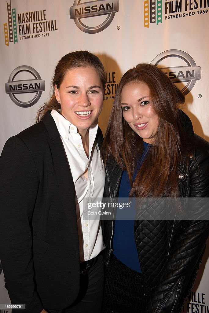 Lauren Hogarth and Lauren Avinoam Producers of the film 'Undiscoverd Gyrl' attend day 3 of the 2014 Nashville Film Festival at Regal Green Hills on April 19, 2014 in Nashville, Tennessee.