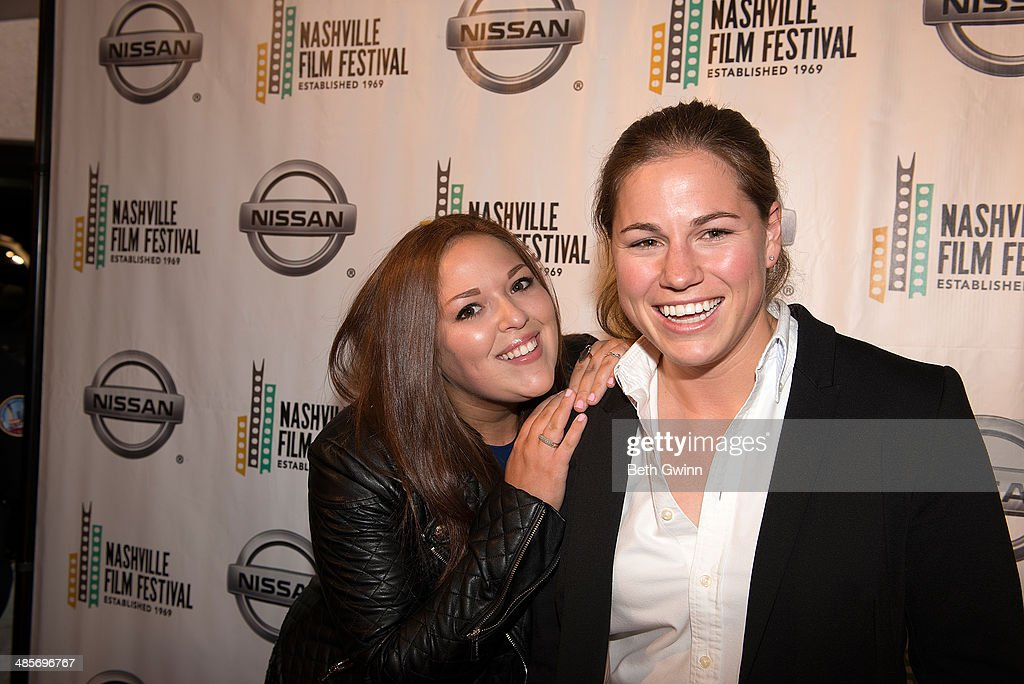 Lauren Hogarth and Lauren Avinoam Producers of the film 'UNdiscovered Gyrl' attend day 3 of the 2014 Nashville Film Festival at Regal Green Hills on April 19, 2014 in Nashville, Tennessee.