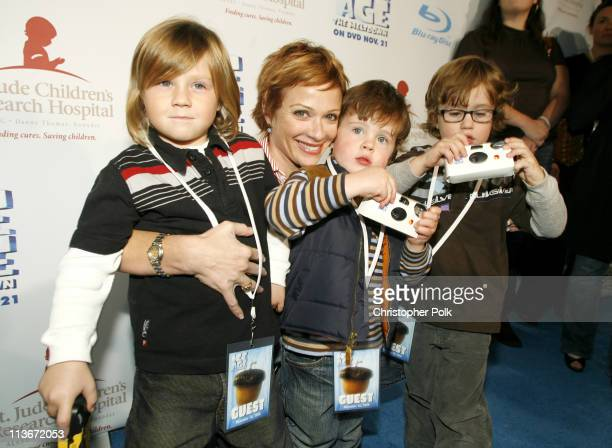 Lauren Holly and guests during 'Ice Age The Meltdown' DVD Release in Beverly Hills November 16 2006 in Beverly Hills California United States