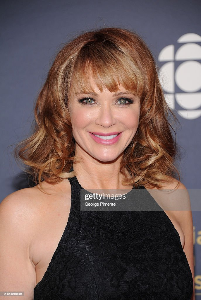 Lauren Holly arrives at the 2016 Canadian Screen Awards at the Sony ...