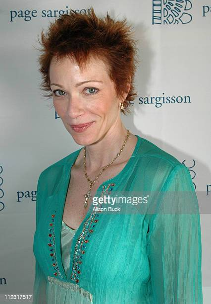 Lauren Holly at Page Sargisson during Golden Globes Style Lounge Presented by Kari Feinstein PR Day 2 in Los Angeles California United States