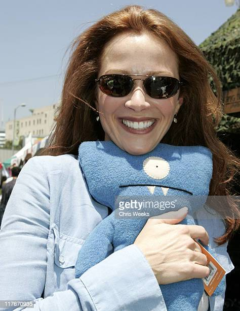 Lauren Holly at Uglydolls during Silver Spoon Hollywood Buffet Day One at Private Estate in Hollywood California United States Photo by Chris...