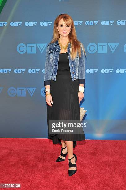 Lauren Holly attends CTV Upfront 2015 Presentation at Sony Centre For Performing Arts on June 4 2015 in Toronto Canada
