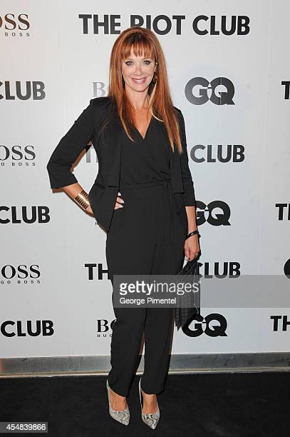 Lauren Holly attends the Post Premiere Party for 'The Riot Club' Sponsored by Hugo Boss and GQ 2014 Toronto International Film Festival at Thompson...