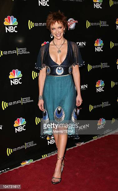 Lauren Holly during 2005 Radio Music Awards Arrivals at Aladdin Hotel in Las Vegas CA United States
