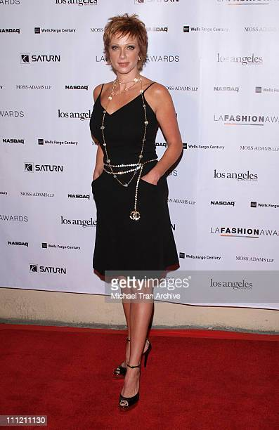 Lauren Holly during 2nd Annual LA Fashion Awards at Orpheum Theatre in Los Angeles California United States
