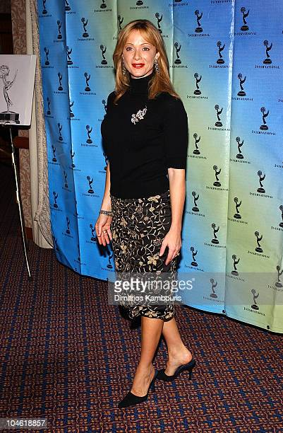 Lauren Holly during 30th Annual International Emmy Awards Ceremony Press Room at Sheraton New York Hotel and Towers in New York City New York United...