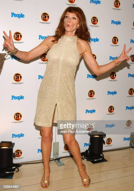 Lauren Holly during Entertainment Tonight and People Magazine Celebrate The 57th Annual Emmy Awards at Mondrian in West Hollywood California United...