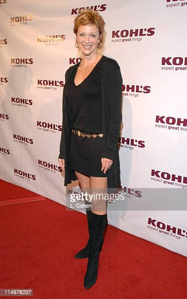 Lauren Holly during Kohl's and Conde Nast Host Kohl's Transformation Nation Fall Fashion Show Red Carpet at Santa Monica Pier in Santa Monica...