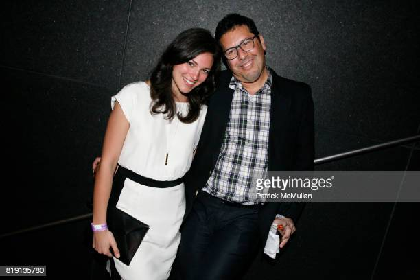 Lauren Hurst and Tom Mendes attend MoMA hosts opening night benefit for THE ARMORY SHOW 2010 at MoMA on March 3 2010 in New York