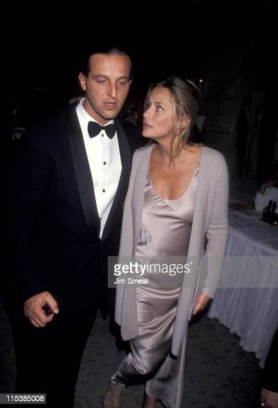 Lauren Hutton and guest during American Cancer Society's 'Dynamic Duos' 1994 Gala at The Pierre Hotel in New York City New York United States