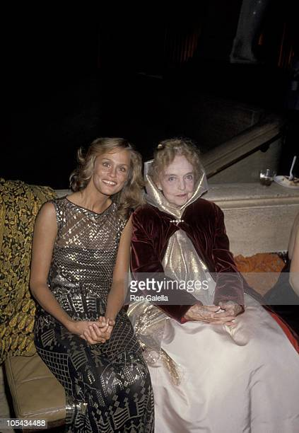 Lauren Hutton and Lillian Gish during 16th Annual New York Film Festival at Avery Fisher Hall in New York City New York United States