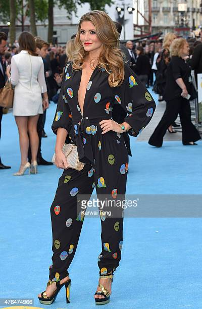 Lauren Hutton attends the European Premiere of 'Entourage' at Vue West End on June 9 2015 in London England