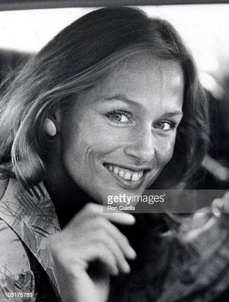 Lauren Hutton during 47th Annual Academy Awards Rehearsals at Dorothy Chandler Pavilion in Los Angeles California United States