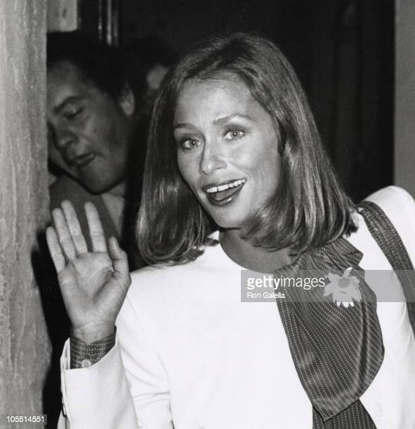 Lauren Hutton during Lauren Hutton at a Taping of 'The Merv Griffin Show' in Los Angeles California United States