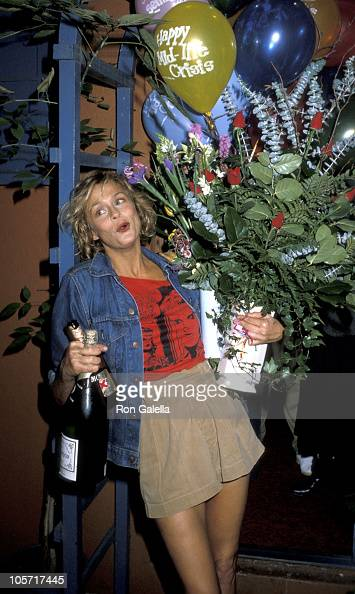 Lauren Hutton during Lauren Hutton's 40th Birthday Party November 17 1983 in Los Angeles California United States