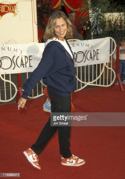 Lauren Hutton during World Premiere Opening Barnum's Kaleidoscape Benefit at Century Park West in Century City California United States