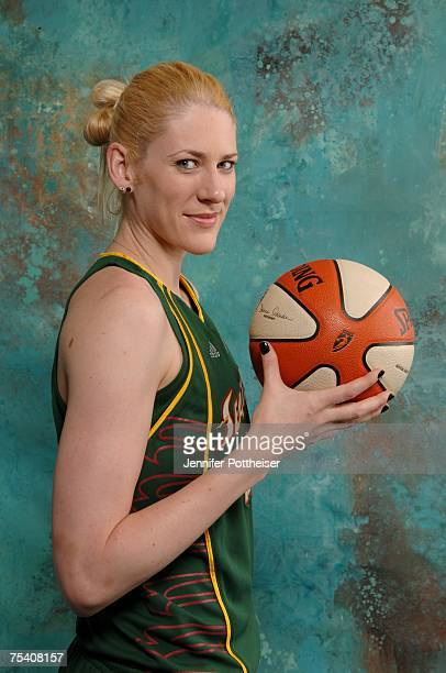 Lauren Jackson of the Seattle Storm poses for a portrait during the 2007 WNBA AllStar Media Availability on July 13 2007 at the Renaissance Mayflower...