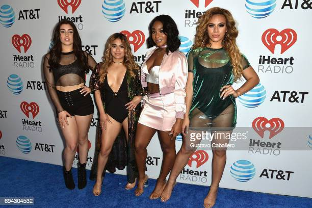 Lauren Jauregui Ally Brooke Hernandez Normani Kordei and Dinah Jane Hansen of Fifth Harmony attend the Fontainebleau Miami Beach on June 9 2017 in...