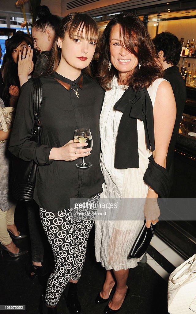 Lauren Jones and Tricia Ronane attend Joe's x Purple Magazine dinner at Le Caprice on May 13, 2013 in London, United Kingdom.