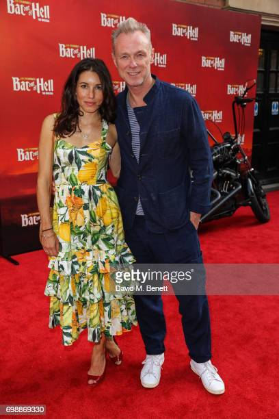 Lauren Kemp and Gary Kemp attend the press night performance of 'Bat Out Of Hell The Musical' at The London Coliseum on June 20 2017 in London England