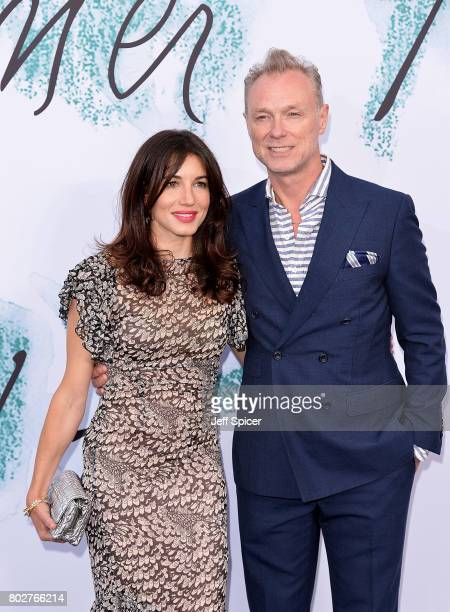 Lauren Kemp and Gary Kemp attend The Serpentine Galleries Summer Party at The Serpentine Gallery on June 28 2017 in London England