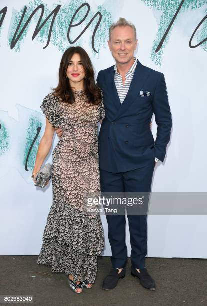 Lauren Kemp and Gary Kemp attend The Serpentine Gallery Summer Party at The Serpentine Gallery on June 28 2017 in London England
