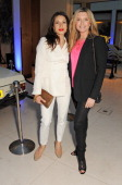 Lauren Kemp and Tina Hobley attend a VIP dinner hosted by Maserati to unveil the new 'Quattroporte' at The Hurlingham Club on April 17 2013 in London...