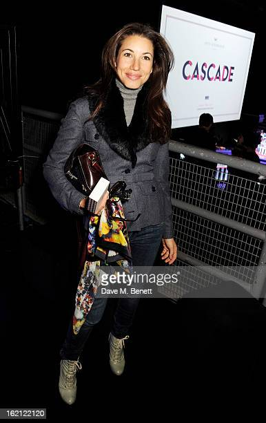 Lauren Kemp attends the Anya Hindmarch Autumn/Winter 2013 presentation during London Fashion Week at P3 on February 19 2013 in London England