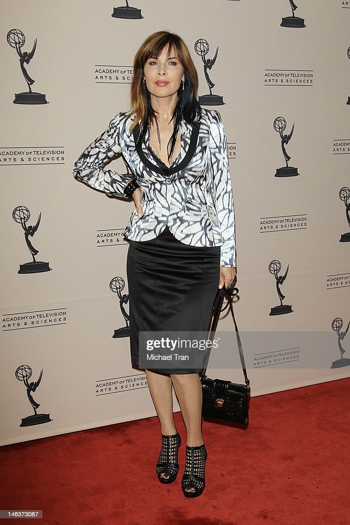 Lauren Koslow arrives at 39th Daytime Entertainment Emmy Awards - nominees reception held at SLS Hotel on June 14, 2012 in Beverly Hills, California.