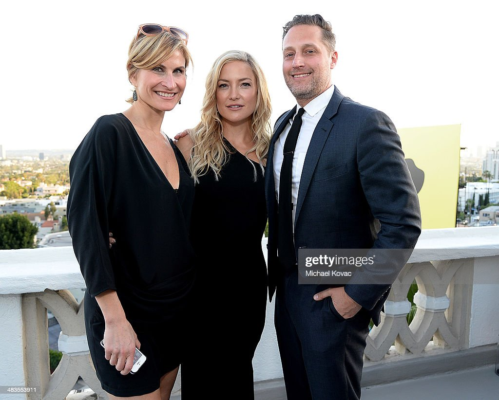 Lauren Kucerak, actress <a gi-track='captionPersonalityLinkClicked' href=/galleries/search?phrase=Kate+Hudson&family=editorial&specificpeople=156407 ng-click='$event.stopPropagation()'>Kate Hudson</a>, and Ann Taylor Senior Director of PR Shawn Buchanan attend <a gi-track='captionPersonalityLinkClicked' href=/galleries/search?phrase=Kate+Hudson&family=editorial&specificpeople=156407 ng-click='$event.stopPropagation()'>Kate Hudson</a> celebrates the Little Black Dress Collection for Ann Taylor at Chateau Marmont on April 8, 2014 in Los Angeles, California.