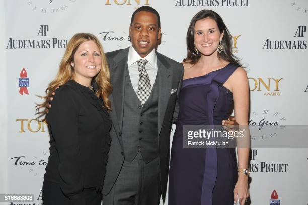 Lauren Land JayZ and Lydia Fenet attend AUDEMARS PIGUET 'Time To Give' Celebrity Watch Auction to Benefit Broadway Cares / Equity Fights AIDS Auction...
