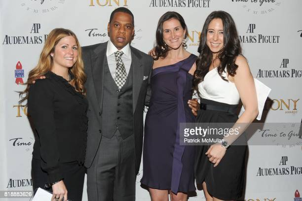 Lauren Land JayZ Lydia Fenet and Dana Hagendorf attend AUDEMARS PIGUET 'Time To Give' Celebrity Watch Auction to Benefit Broadway Cares / Equity...