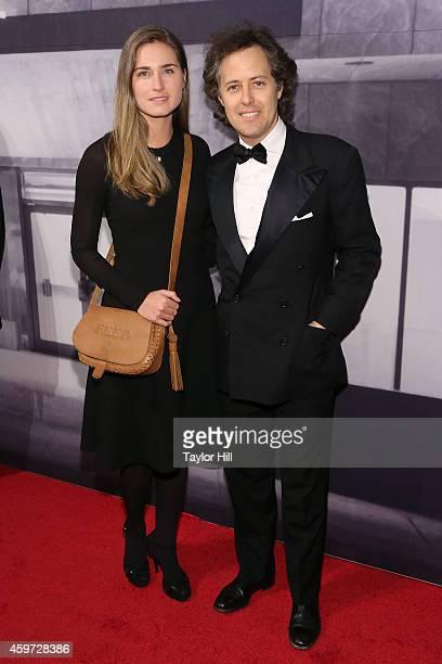 Lauren Lauren and David Lauren attend The Whitney Museum Of American Art's 2014 Gala Studio Party at The Whitney Museum of American Art on November...