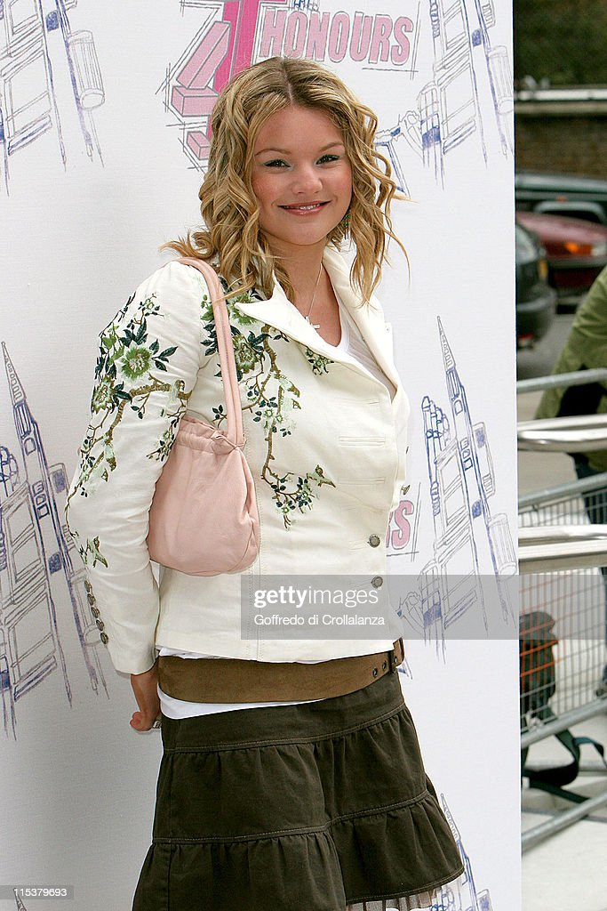 Lauren Lavern during The 2005 T4 Honours Arrivals at Channel 4 Tv Studios in London United Kingdom