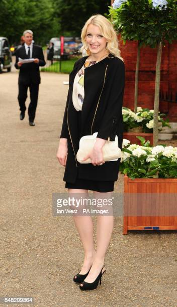 Lauren Laverne arriving at The English National Ballet summer party at The Orangery Kensington Gardens London PRESS ASSOCIATION Photo Picture date...