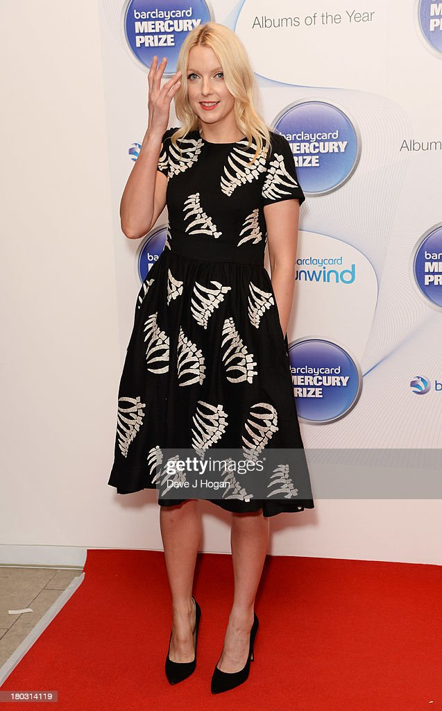 Lauren Laverne attends the Barclaycard Mercury Prize shortlist announcement at The Hospital Club on September 11, 2013 in London, England.