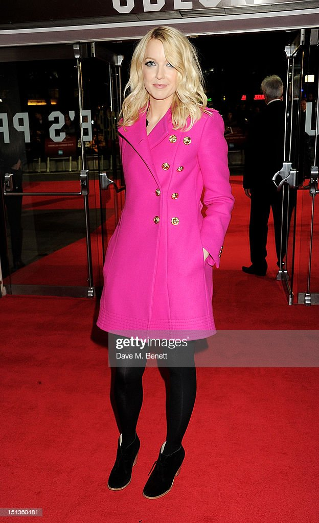 Lauren Laverne attends the Gala Premiere of 'Crossfire Hurricane' during the 56th BFI London Film Festival at Odeon Leicester Square on October 18, 2012 in London, England.