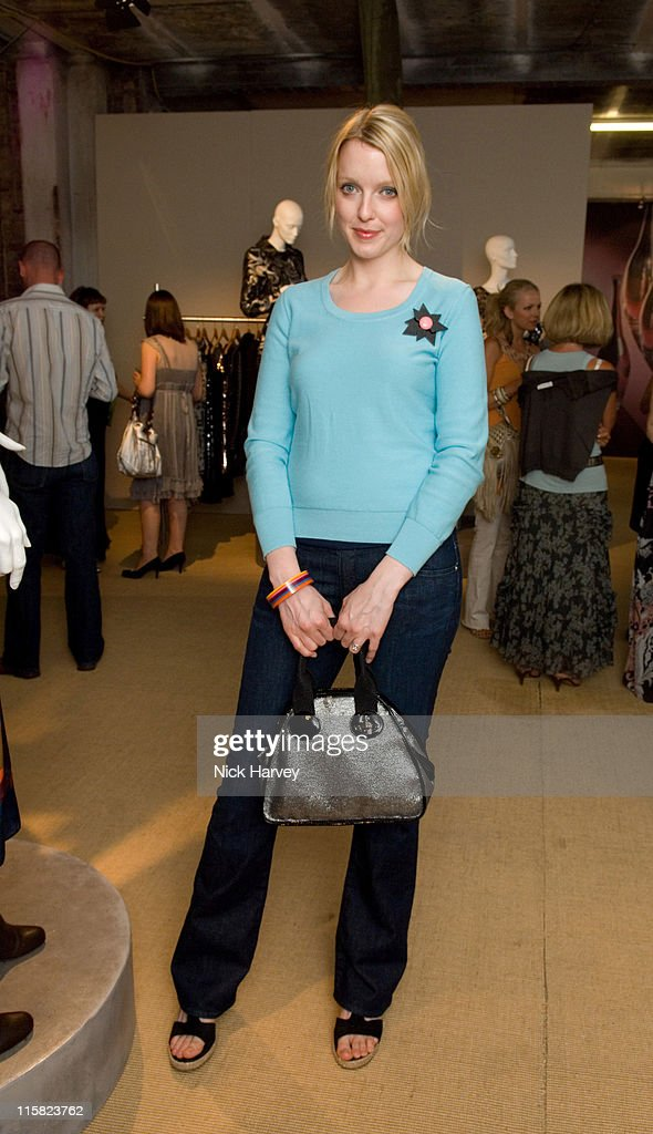 Lauren Laverne during Marks Spencer Autumn/Winter 2007 Collection Inside in London Great Britain