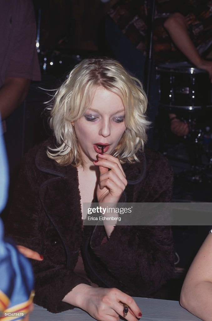 Lauren Laverne of Kenickie debut album launch Tower Records London United Kingdom May 1997