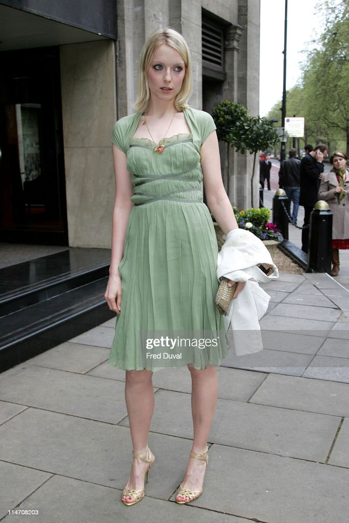Lauren Laverne of XFM during 2006 Sony Radio Academy Awards Outside Arrivals at Grosvenor House in London Great Britain United Kingdom