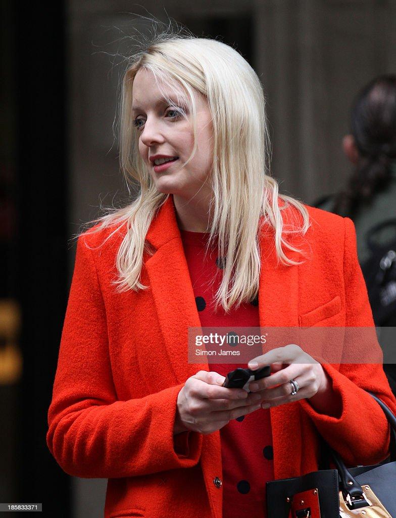 Lauren Laverne sighting on October 25, 2013 in London, England.